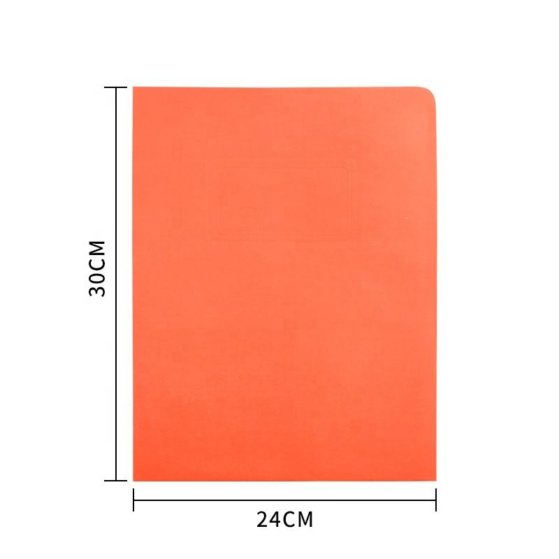 Factory price DIY computer student manila office stationery custom color cardboard project paper file folder with pockets
