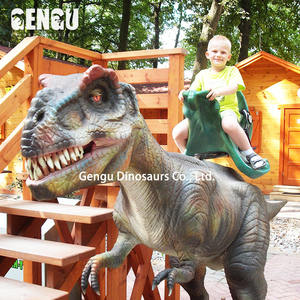 Popular Shopping Mall Dinosaur Rides For Kids To Play