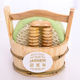 Small Bath Items Wood Plastic Bathroom Accessories Set