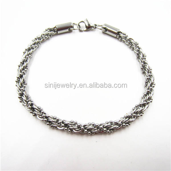 2//3//4//5//6//8MM Mens Chain Stainless Steel Round Box Link Necklace 18-36inch hot