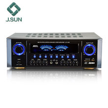Powerful 5.1 home theater power amplifier with usb sd