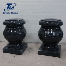 monuments funeral granite vases for graves niches