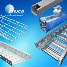 Steel Wire Mesh Cable Tray Perforated Ladder Type Cable Tray