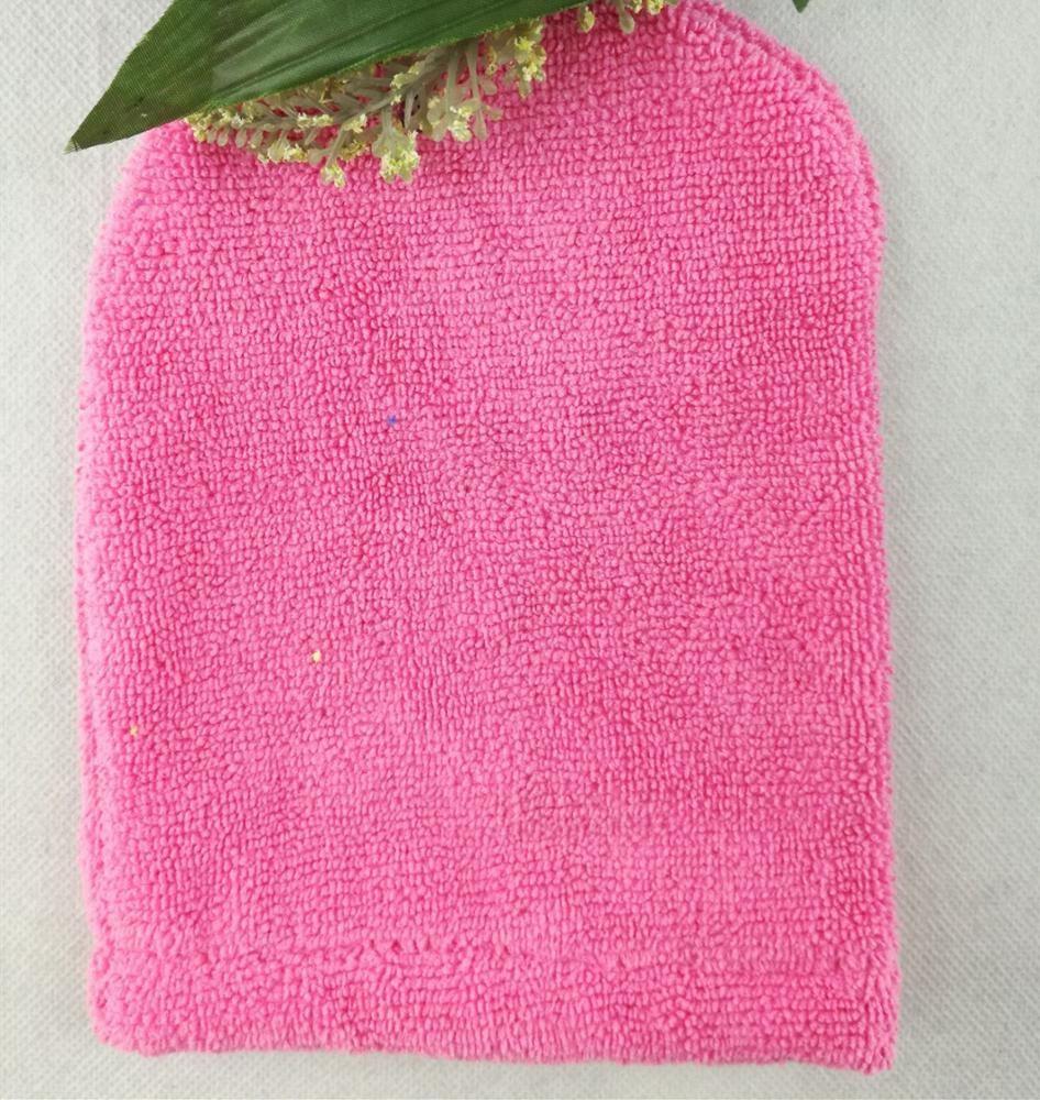 BABY BATH WASH MITT GLOVE FLANNEL Yellow//Blue//Pink Terry Towel Brand NEW UK