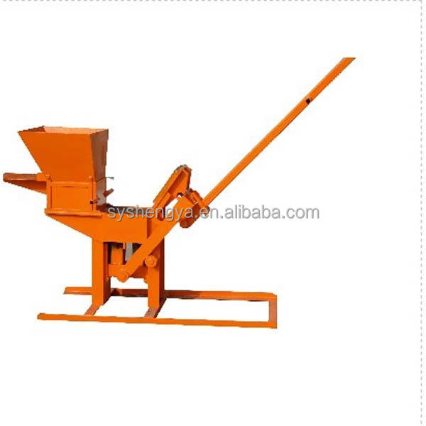 For sale!!!QMR2-40 interlocking manual clay brick hand press making machine