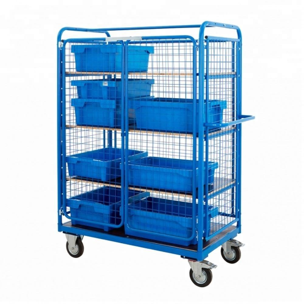 Công nghiệp Container Lồng xe xe đẩy
