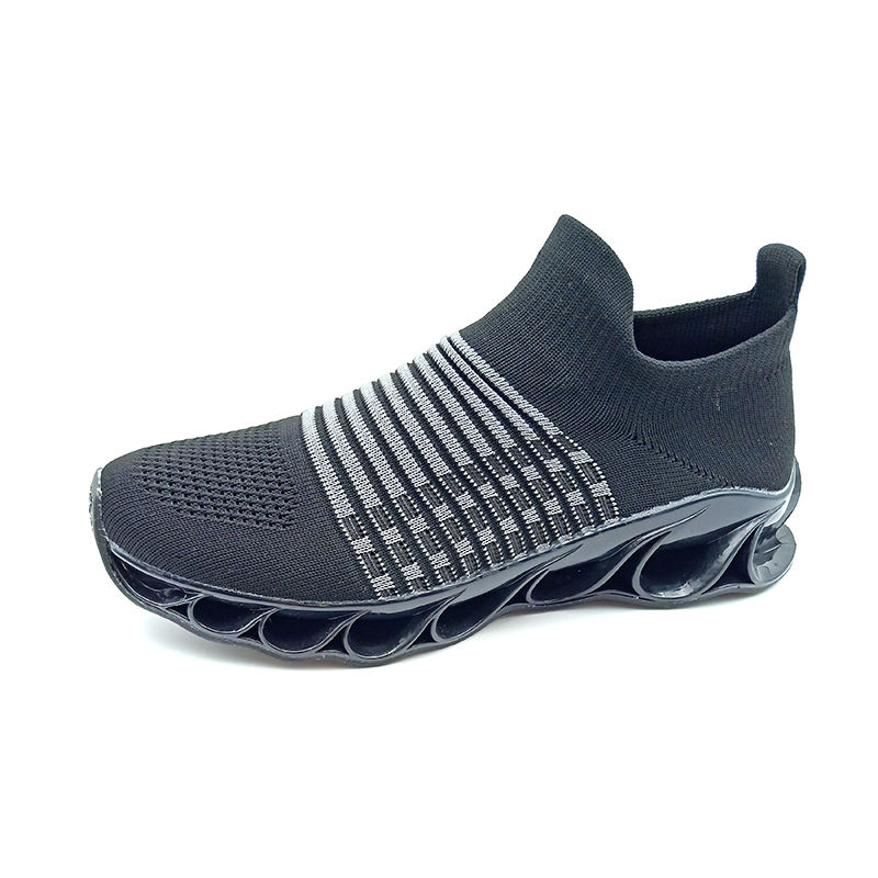 Mens Casual Walking Sneakers Slip On Blade Outdoor Sport Shoes