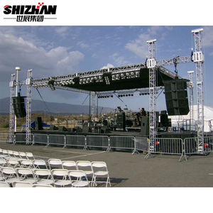lifting tower audio line array truss stand concert truss