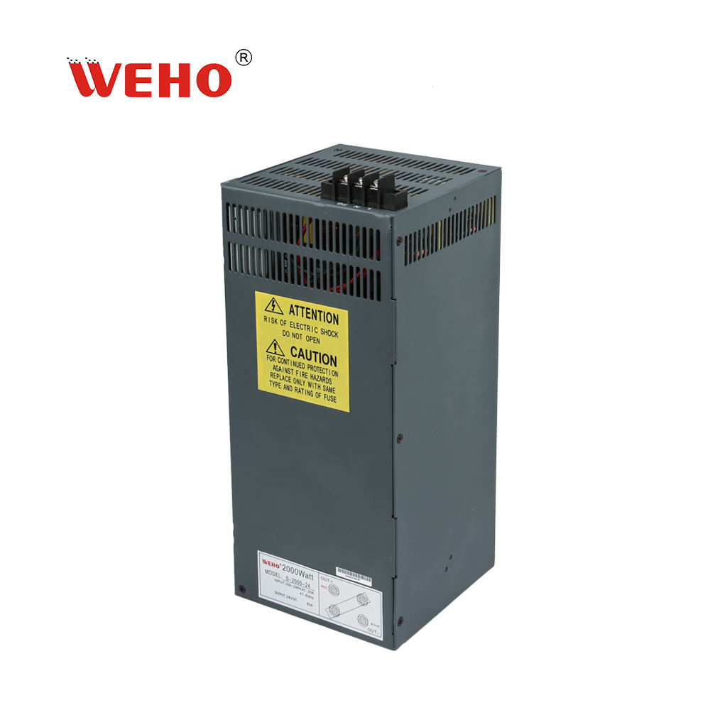 WEHO 2000w ac dc 48v 40a industrial power supply