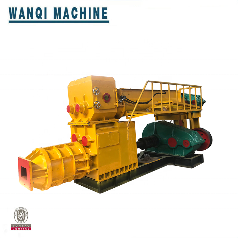 2019 China full automatic soil red mud clay brick making machine production line