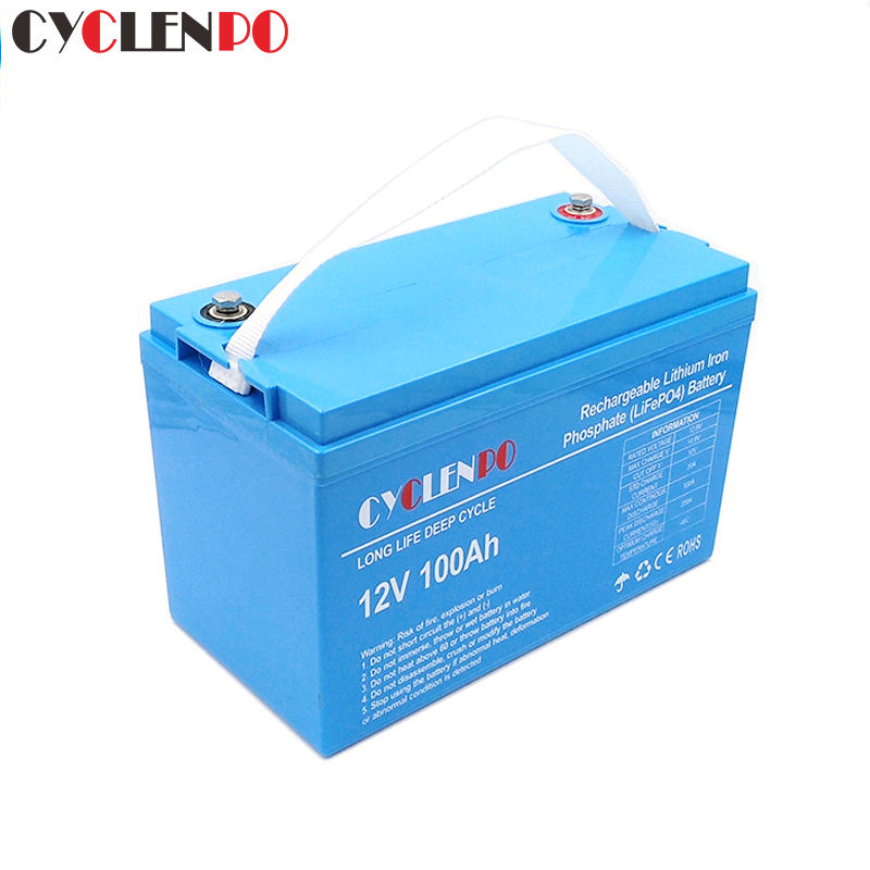 Factory customized bateria lifepo4 12v 100ah battery pack for rv marine and solar