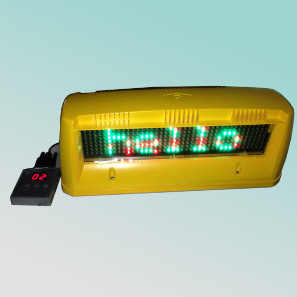 Cer rohs doppelseiten 7x40pixel 12v hohe helligkeit outdoor-dach led beleuchtet zeichen <span class=keywords><strong>taxi</strong></span>
