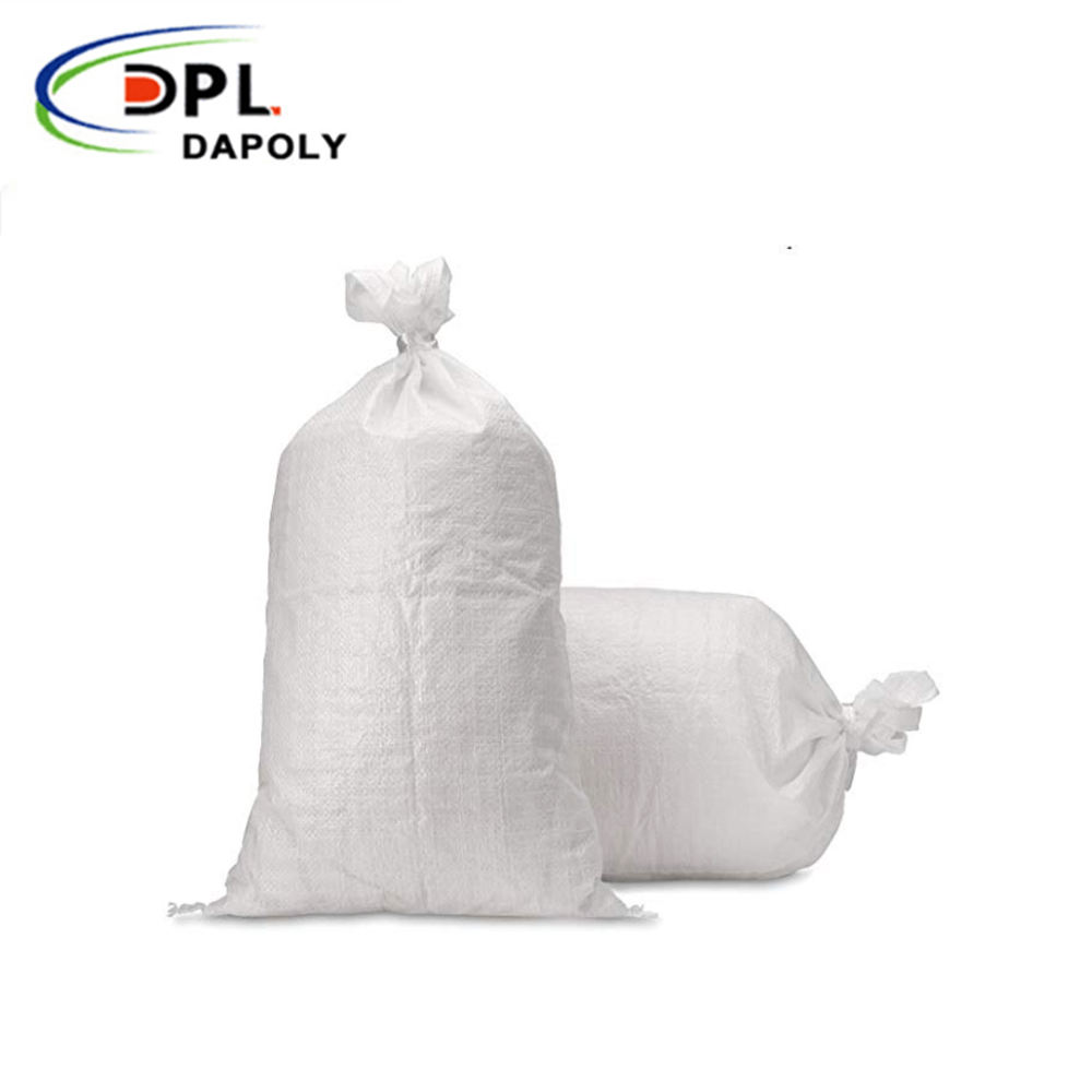 China Wholesale Price Polypropylene Woven Bags 25kg, 50kg PP White Bag No Liner woven polypropylene agricultural bags