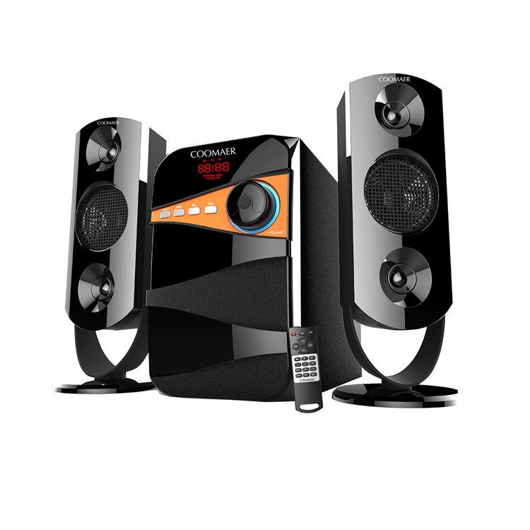 Hi Fi Big Professional Surround Sound Audio 2.1 Multimedia Speaker System