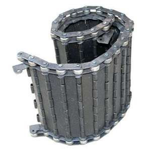 hinged steel chip conveyor belting made in china