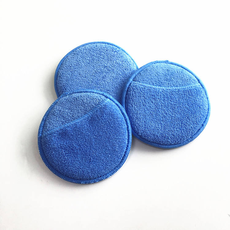 "<span class=keywords><strong>Auto</strong></span> washer Microfiber Wax Applicator Polijsten Sponzen pads 5 ""Diameter"