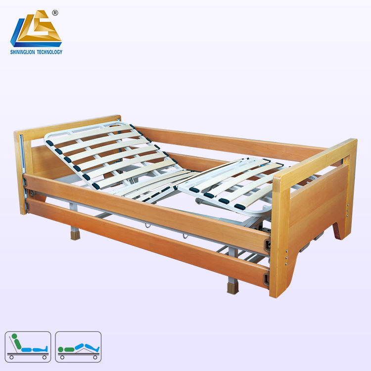 Solid Wood Hospital Bed Wooden Hospital Bed for Home Use