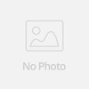 Lange Linie Scoop Neck Raw Rand T-Shirt