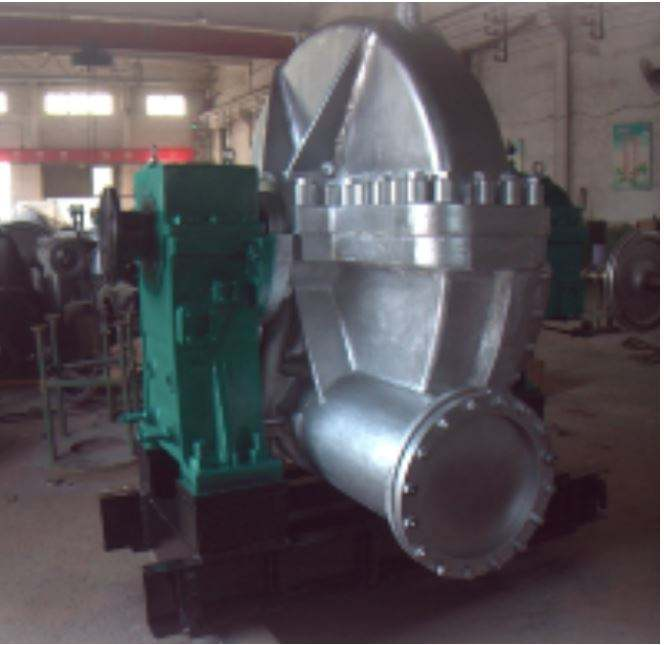 China made Single Layer Packaged back pressure Steam Turbine & Generator