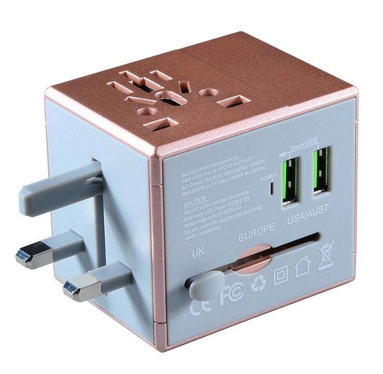 <span class=keywords><strong>Polyvalent</strong></span> monde universel puissance voyage plug adapter, voyage plug adaptateur, universal voyage adaptateur plug