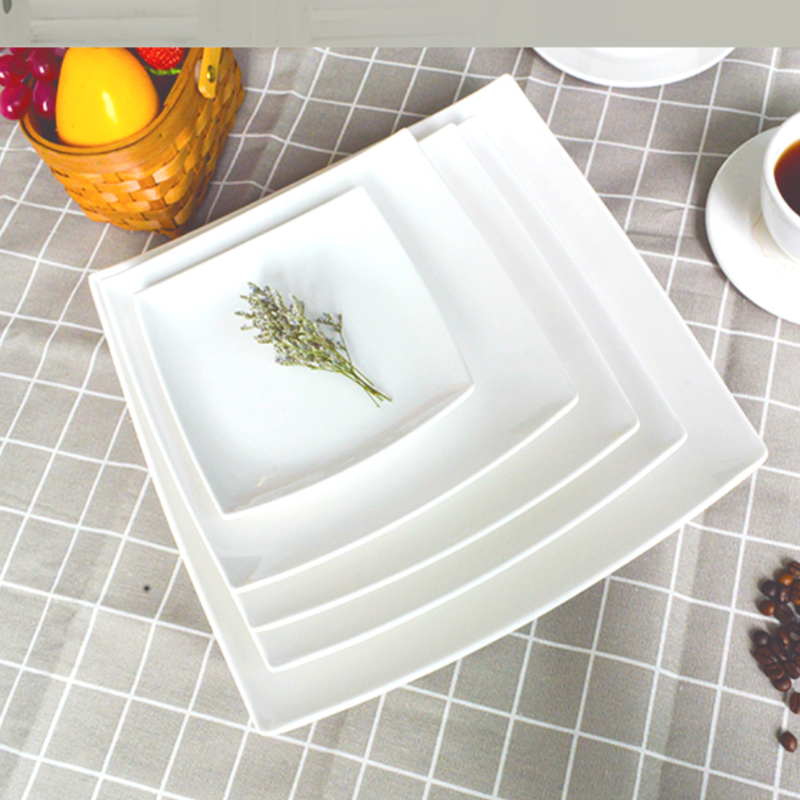 Guangzhou TaiYuanMei Manufacturer 100% restaurant cheap wholesale white melamine plate