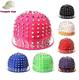 Men Women Punk Hedgehog Rock Hip Hop Silver Rivet Stud Spike Spiky Hat Cap Baseball