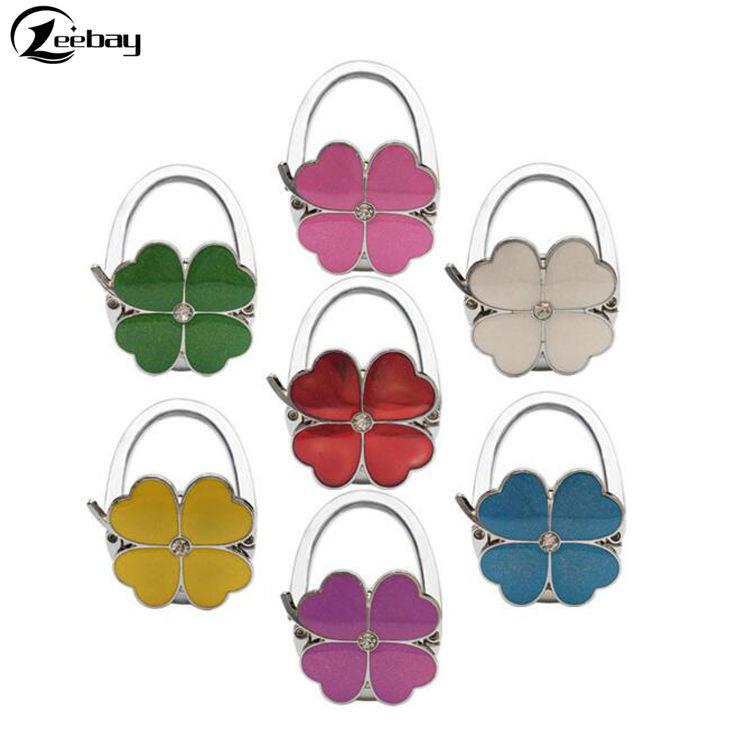 Watercolor Cancer Everything Purse Hanger Handbag Hook Retractable Folding