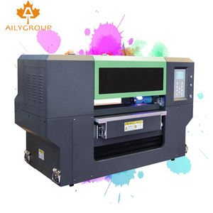 gen5 rotary a2 uv 6040 flat bed uv printer with varnish