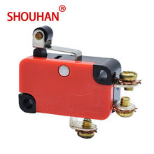 FREE SHIPPING Limit Switch 1185RE8 15/25A 125/250V Red Micro Switch With Screw Pin Sensitive Hight Quality Welding Copper Stroke