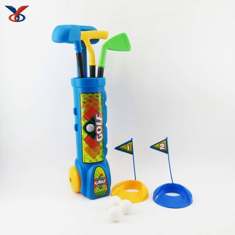2019 Outdoor Sport Set Toys Kids Plastic Golf Club Toy Mini Golf Toys For Kids