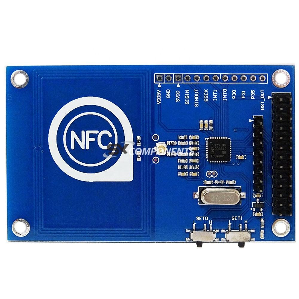 Hi-Q! 13.56mHz PN532 Precise NFC Module for ardu /Compatible with rasp pi /NFC card module to read and write