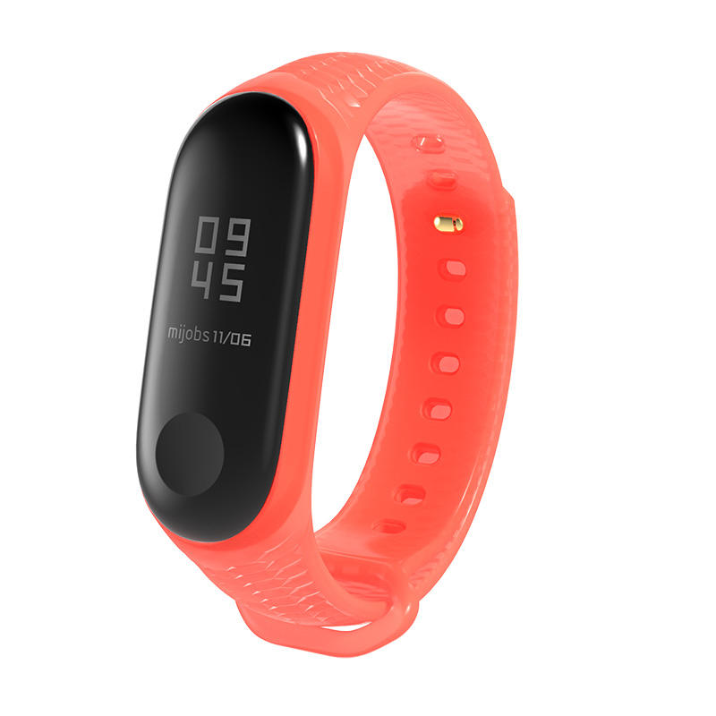 TPU Silicone Strap For Mi band 4 Replacement Bracelet For Xiaomi Mi Band 3 Replace Wristbands Accessories