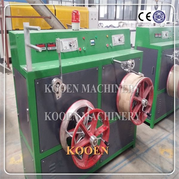 KOOEN Waste PP PET plastic packing belt making machine
