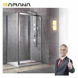 Hot Sale shower room With Aluminum Frame Supplier Simple Shower Room Factory