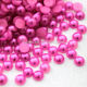 6mm plastic loose decorative pearls in bulk