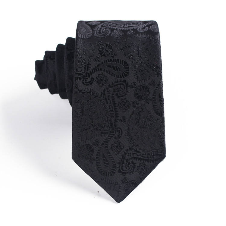 Factory directly supply polyester jacquard custom printing cashew flower wedding party necktie ties