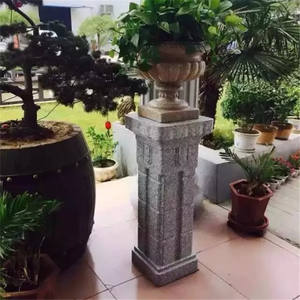 Roman Pillar ABS Plastic concrete Column Molds For Sale