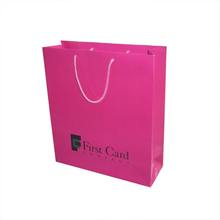 Custom Logo Printed Shopping Paper Bag