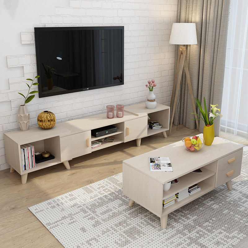 Table TV Modern Coffee Table And TV Stand Set