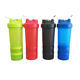 450ml Plastic Travel Cup Protien Shaker Bottles for Gym Fitness with Mixing Ball Storage Box
