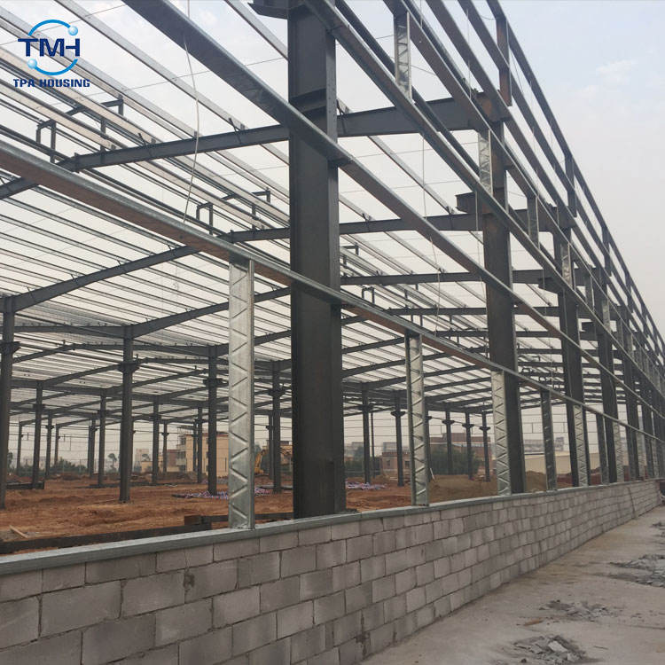 Prefab Shed Steel Structure Space Frame Roof Building
