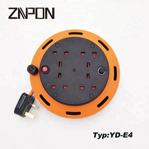 YD-E4 ANH cable reel 4way cáp mở rộng reel