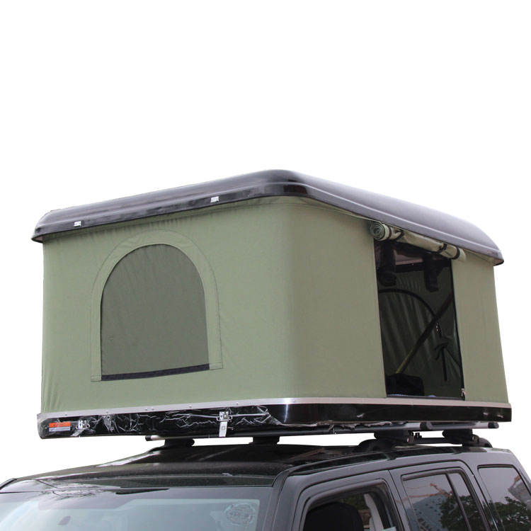 Camping Automatic truck Rooftop Tent Hard Top Roof Tent Outdoor Vehicle roof top tents