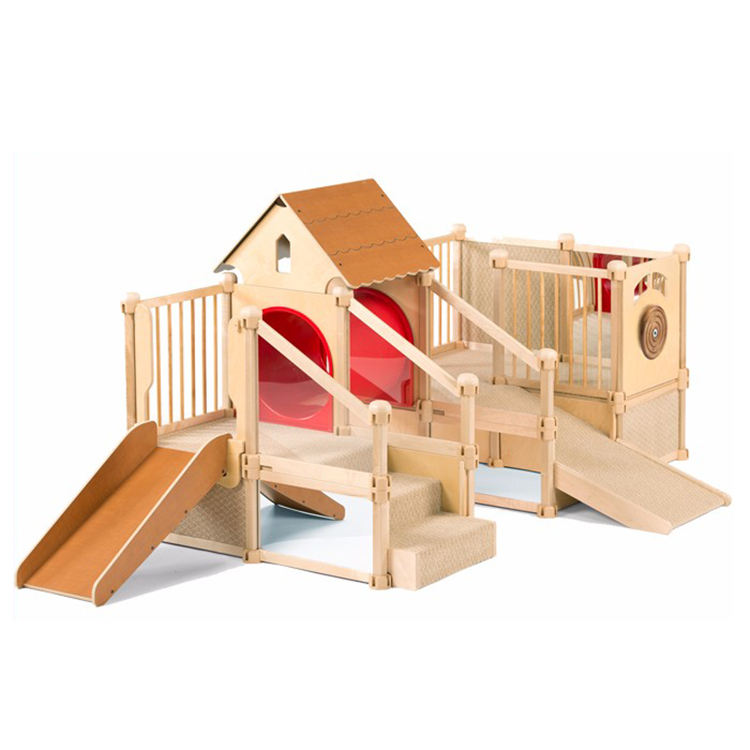 Children Playground Equipment Playground Sets Indoor Playground Slides Daycare Furniture