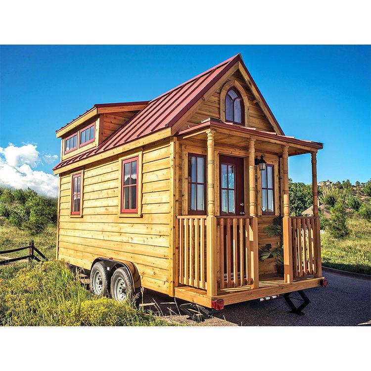 Muebles modernos de madera pequeña <span class=keywords><strong>casa</strong></span> remolque