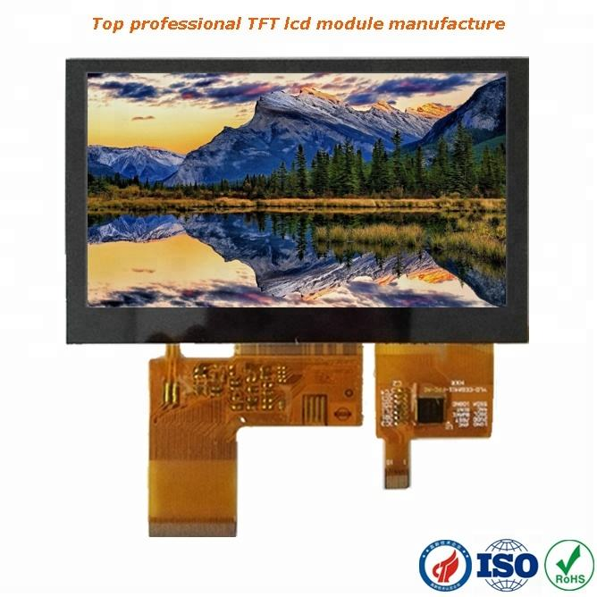 "China baixo custo de 4.3 ""TFT 480x272 6 horas com toque capacitivo"