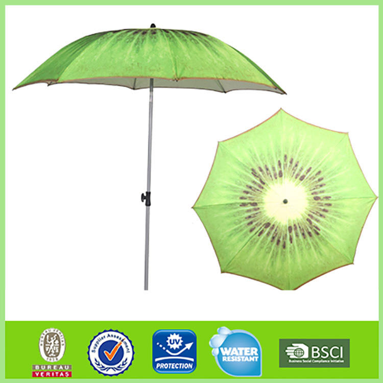 Cheap Beach Umbrella Cheap Wholesale Price Beach Umbrella Hot Sale OEM Fruit Printing Parasol Umbrella