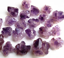 Wholesale Natural Amethyst Stone Rough Amethyst Small Crystal Cluster For Decoration
