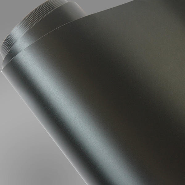 High Quality 1.52x30m air free bubble PVC Adhesive Vinyl Roll Matt Black Vinyl Wrap Film Sticker For Car