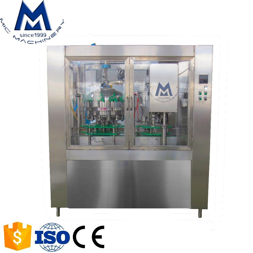Factory Price Small Size Takeup Pet Can Filling Sealing Machine